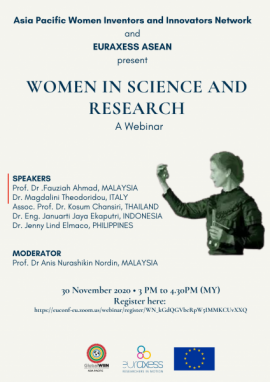 Image of (579774) Women in Science and Research