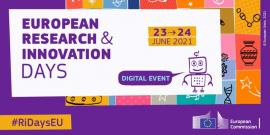 Image of (647373) European Research and Innovation Days! REGISTRATION OPEN NOW!
