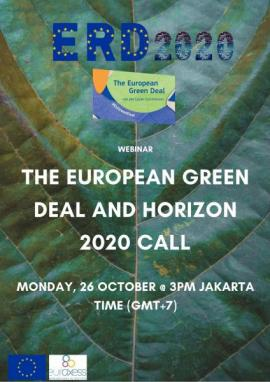 Image of (570266) The European Green Deal and Horizon 2020 Call