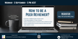 Image of (552483) How to be a Peer Reviewer?