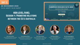Image of (575787) Session 4 @ European Research Days 2020 - Australia & New Zealand