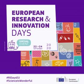 Image of (532310) European Research and Innovation Days 2020