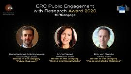 Image of (539964) Winners of the first ERC Public Engagement with Research Award announced