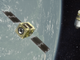 Image of (499022) Astroscale Selected as Commercial Partner for JAXA's Commercial Removal of Debris Demonstration Project