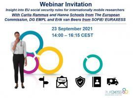 Image of (687090) Social Security webinar: Insight into EU social security rules related to mobile researchers