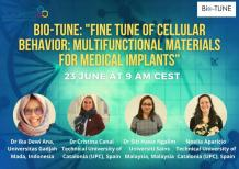 """Image of (651876) [Meet My Lab] Bio-TUNE: """"Fine tune of cellular behavior: multifunctional materials for medical implants"""""""