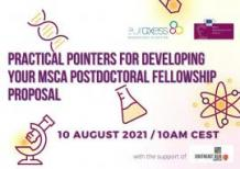 Image of (668946) Practical Pointers for Developing Your MSCA Postdoctoral Fellowship Proposal