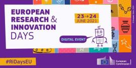 Image of (606396) Save the date: the European Research & Innovation Days take place on 23 & 24 June 2021