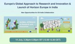Image of (661026) Europe's Global Approach to Research and Innovation & Launch of Horizon Europe in India