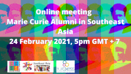Image of (608785) MSCA Fellows in Southeast Asia - Online Meeting