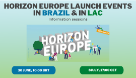 Image of (654613) Horizon Europe launch events in Brazil & LAC