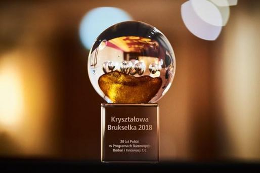 "The ""Crystal Brussels"" award 2018"